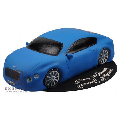 Торт «Бентли» синий