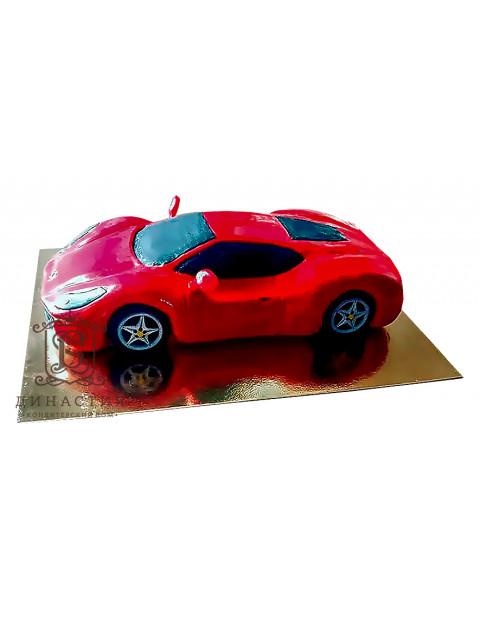 Торт «Красный СуперКар»
