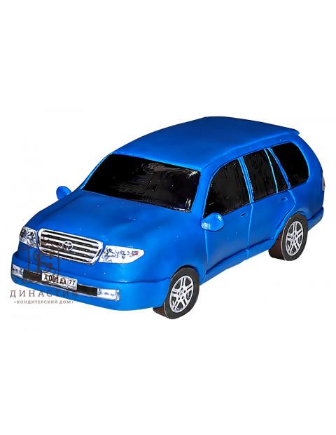 Торт «Тойота» синяя