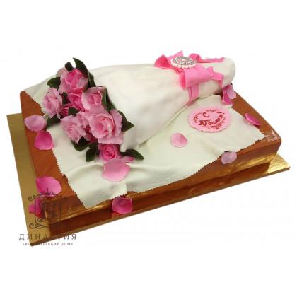 Торт Розовые розы
