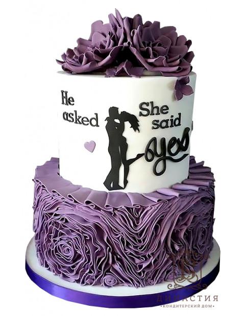 Торт Помолвка