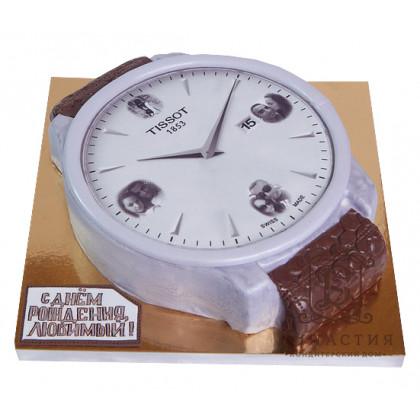 Торт Часы