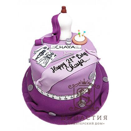 Торт для швеи