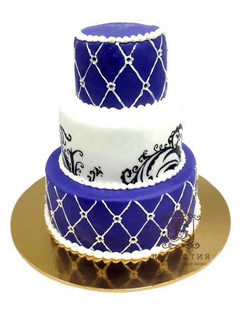 Торт Фиолетовые тона