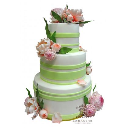Торт Пионы