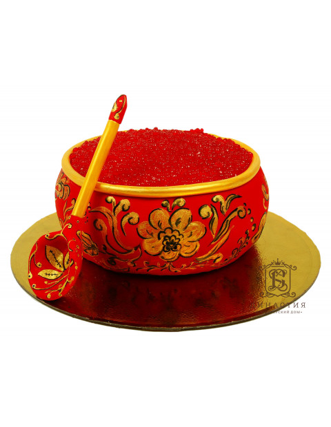 Торт Красная икра