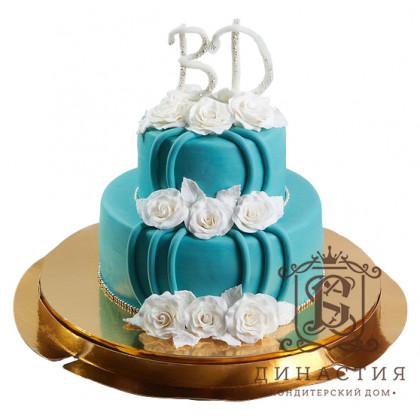 Торт Бирюза