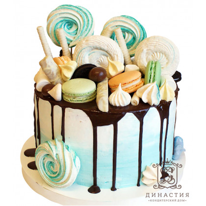 Торт зефирка
