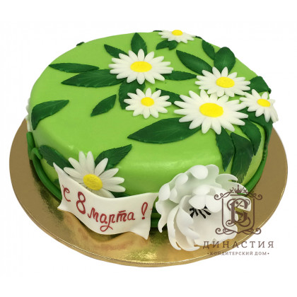 Торт Ромашки