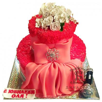 Торт Розовый бархат