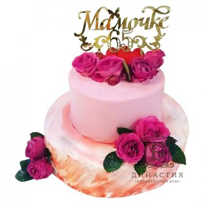 Торт для любимой мамы
