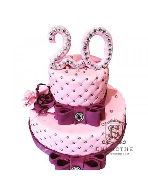 Торт на 20-летие