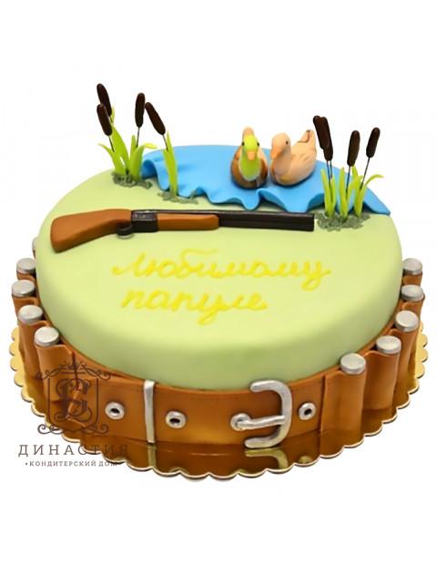 Торт мечта охотника