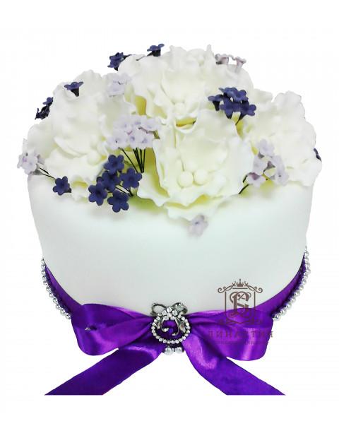Торт Весенние цветы