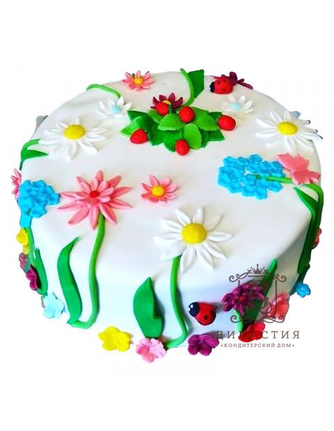 Торт Цветик Семицветик