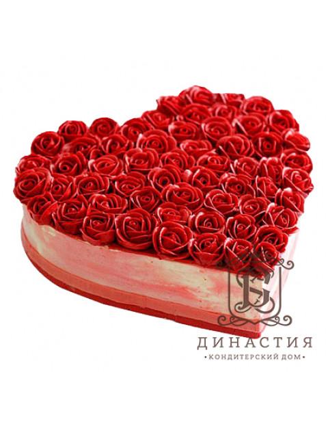 Торт Миллион алых роз