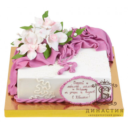 Торт Розовая бахрома