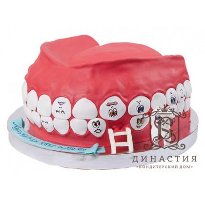 Торт Зубы