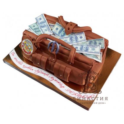 Торт Сумка с деньгами
