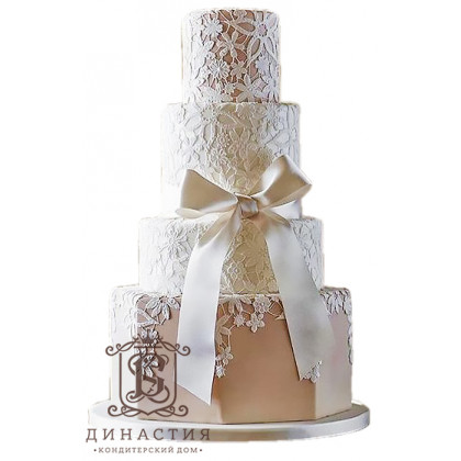 Торт Свадебное кружево