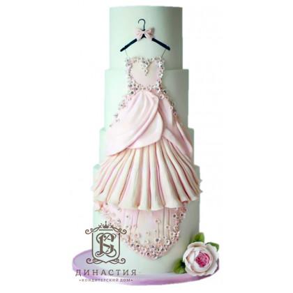 Торт Свадебное платье