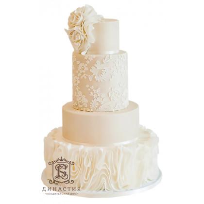 Торт Пастельные узоры