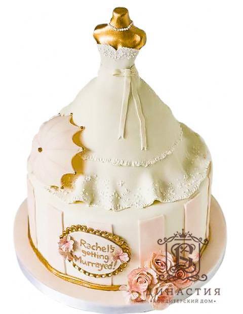 Торт Ажурное платье