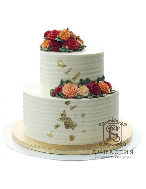 Торт Золотая пыль