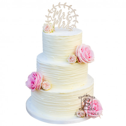 Торт Бутоны роз