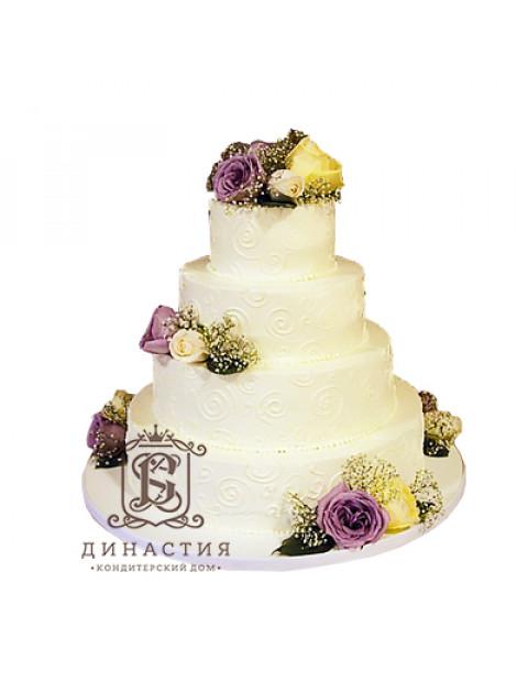 Торт Свадебный букет
