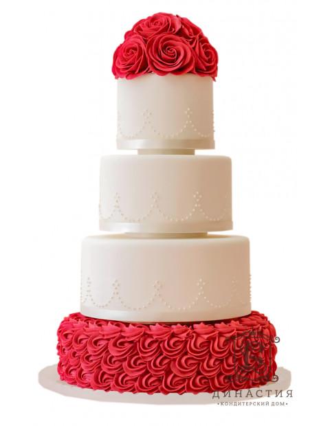 Торт Элегантный красный