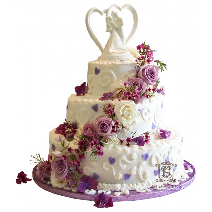 Торт Белая статуэтка