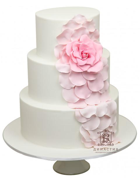 Торт Розовое счастье