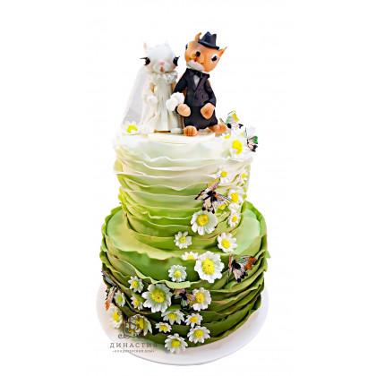 Торт Милые зайки