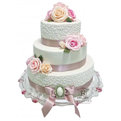 Торт Свадебный восторг