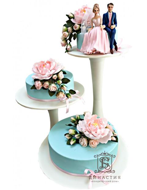 Торт Свадебный тренд