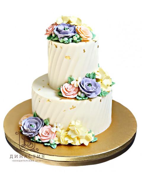 Торт с золотом