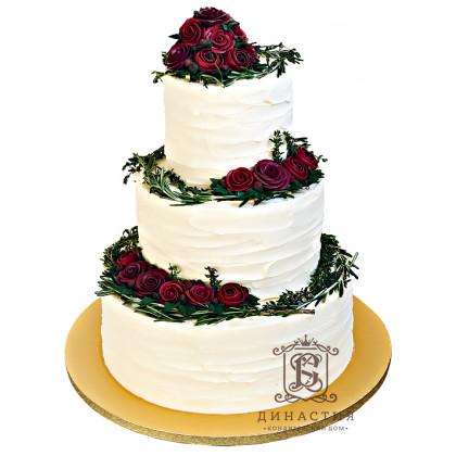 Торт Розы Бордо
