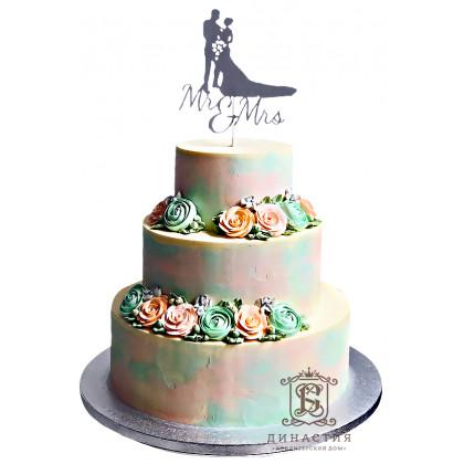 Торт с топпером