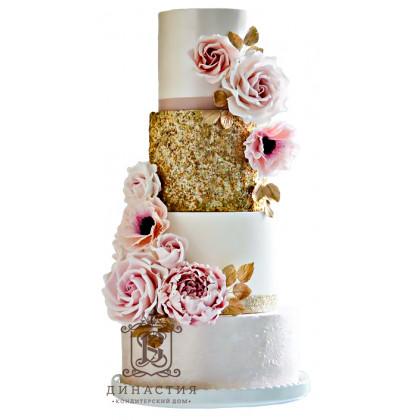 Торт Кованные цветы