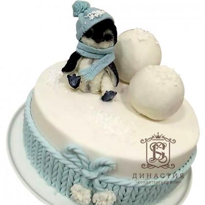 Торт Пингвин