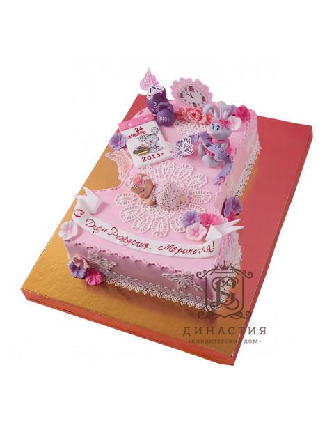 Торт С метрикой