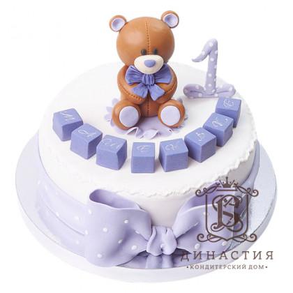 Торт Мишка на годик