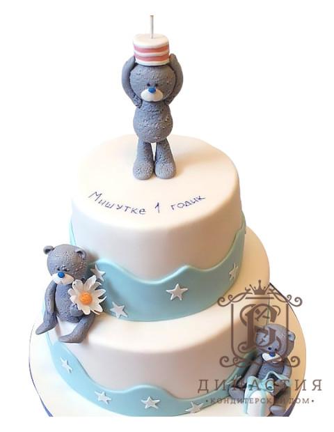 Торт Мишутке 1 годик