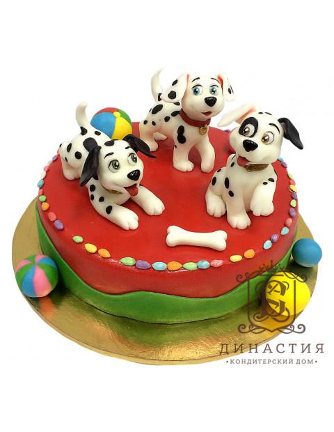 Торт Долматинцы