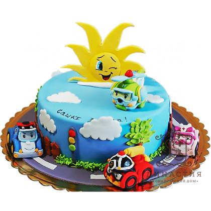 Торт Полли и друзья