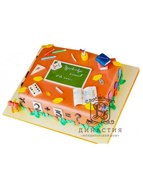 Торт Здравствуй школа