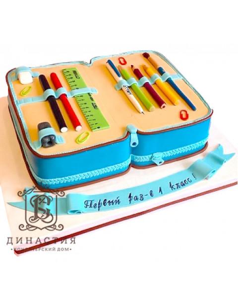 Торт Пенал для первоклашки