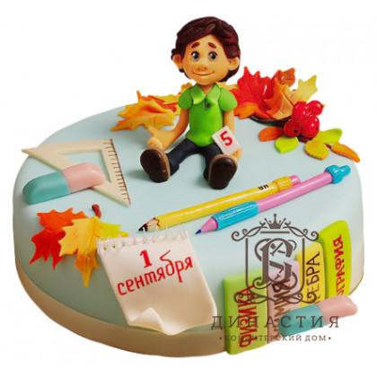 Торт к 1 сентября для мальчика