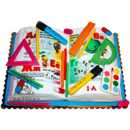 Торт Букварь 4